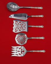 Imperial Chrysanthemum by Gorham Sterling Silver Brunch Serving Set 5pc Custom - $409.00