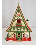 """1996 RETIRED DEPARTMENT 56 NORTH POLE SERIES """"CANDY CANE & PEPPERMINT SHOP"""" - $15.00"""