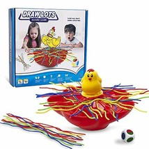 PUSITI Board Game Toys Spaghetti Draw Lots Table Game Toys for Families with Kid