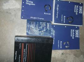 2002 Ford Ranger Camion Servizio Negozio Riparazione Manuale Set W Pced ... - $247.78