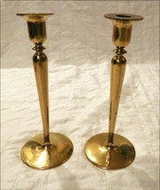 T. F. McGann & Sons Art Nouveau Art & Crafts Heavy Bronze Brass Candles... - $183.15