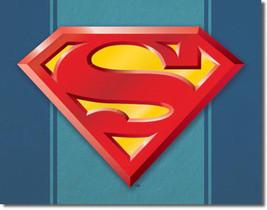 Superman Logo DC Universe Villains and Super Hero Metal Sign - $20.95