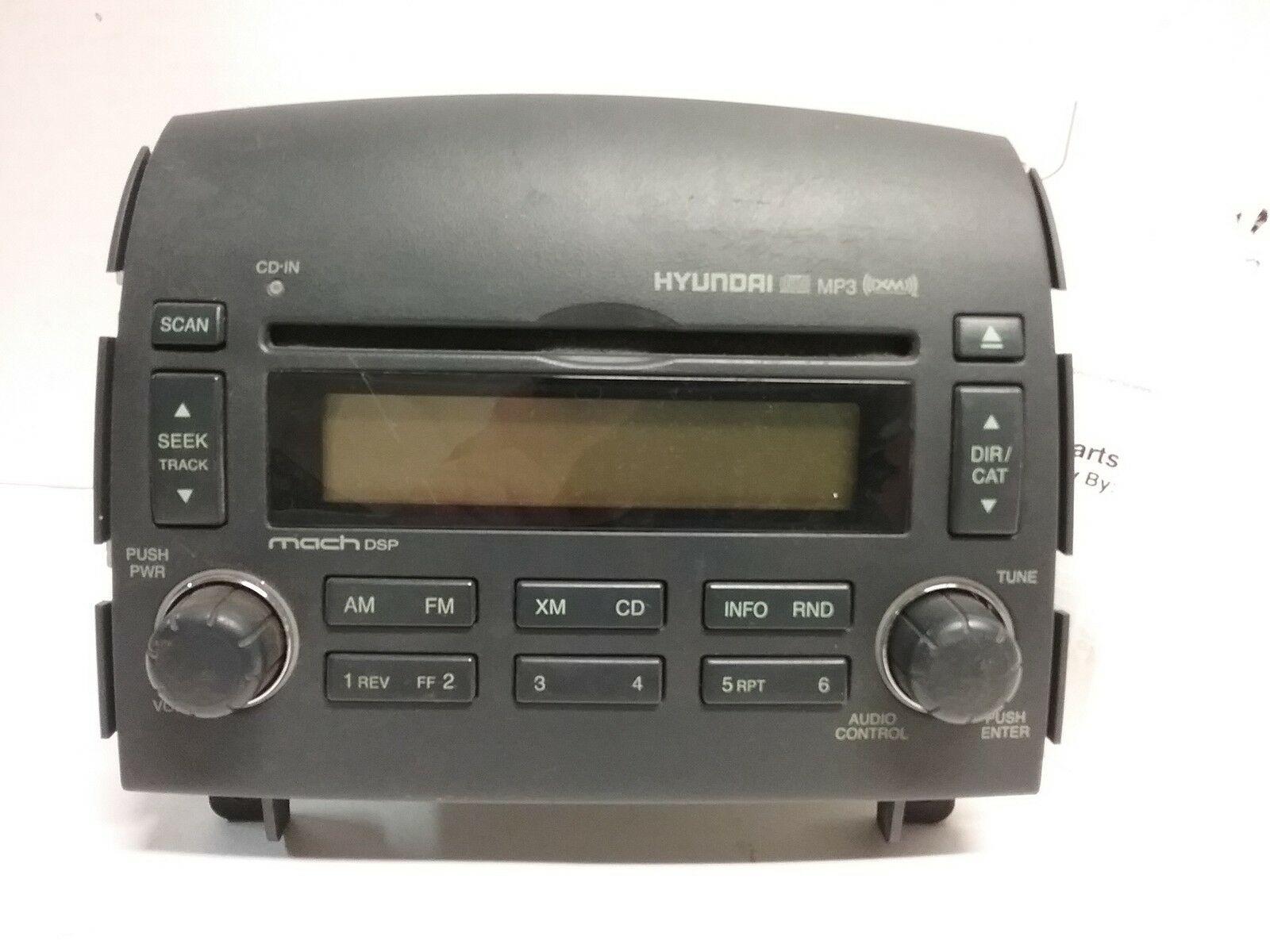 07 08 Hyundai Sonata Mach DSP AM FM XM CD Radio receiver 96180-0A600FZ OEM  - $29.69
