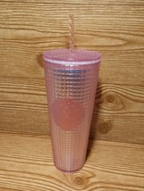Starbucks Pink Grid Disco Holiday 2020 Cold Tumbler Studded IN HAND ! - $59.99
