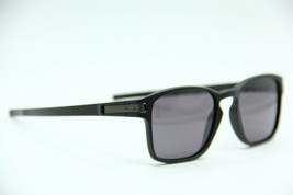 NEW OAKLEY OO9353-01 LATCH BLACK AUTHENTIC FRAME SUNGLASSES 52-19 W/CASE - $66.76