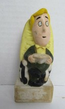 Vintage - Beatlejuice - Double Faced Cake Topper - Rubber - 3 inches tall - $7.42