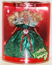 1995 HALLMARK HAPPY HOLIDAYS SPECIAL EDITION BARBIE DOLL EUC - $10.99