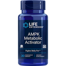 NEW Life Extension Ampk Metaboloic Activator Fights Belly Fats Tablets 30 Count - $43.52