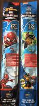 "Ez Breezy 22"" Poly Diamond Kites Lot Of 2 Paw Patrol Chase And Marvel Spiderman - $15.84"