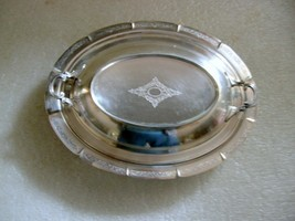 SILVER PLATED  COVERED VEGETABLE DISH - $20.00