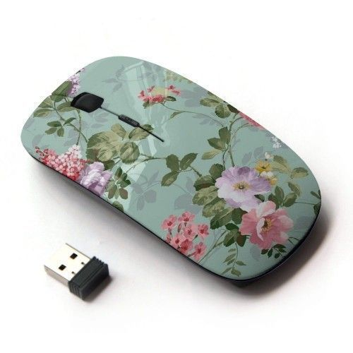 Wireless Optical Mouse Laptop USB Computer Cordless Accessories Birthday Gift