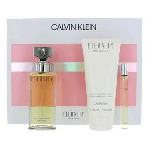 Calvin klein eternity 3 piece gift set