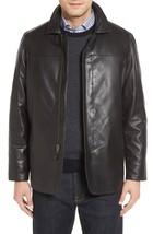 New Front Zip Collar Men's Genuine Lambskin Leather Jacket Slim fit Biker jacket