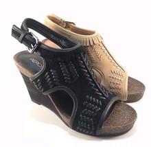 Aerosoles Waterfront Suede Leather Wedge Sandals Choose Sz/Color - $44.50