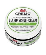 CREMO ONE FOR ALL BEARD SCRUFF CREAM MINT BLEND 4 OZ NEW - $17.81