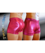 Volcanic Fuchsia Mystique Nylon Spandex Mens, Womens Gladiator Shorts S,... - $25.00