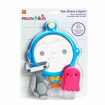 Munchkin See, Shave and Squirt Mirror Set Bath Toy - $12.99