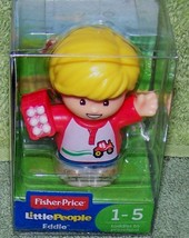 "Fisher Price Little People EDDIE Figure 2.5""H New - $6.88"