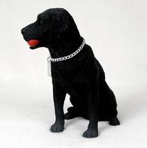 LABRADOR RETRIEVER LAB (BLACK) MY DOG Figurine Statue Pet Lovers Gift Resin - $32.50
