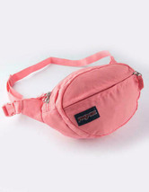 JANSPORT Fifth Ave Waist Pack (Strawberry Pink) Fanny Pack W/ 2 Pockets - $19.00