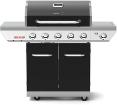 Nexgrill Grill Propane Gas 5-Burners Stainless Steel Cooking Grids Black - $397.95