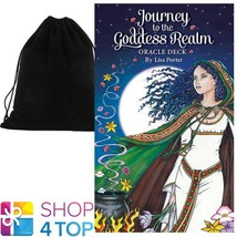JOURNEY TO THE GODDESS REALM ORACLE CARDS DECK ESOTERIC ASTROLOGY VELVET... - $30.58