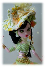 Monster high doll   repaint custom By Dollocity - $135.00