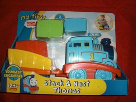 MY FIRST THOMAS & FRIENDS STACK AND NEST THOMAS FISHER PRICE FKM92 NEW S... - $17.99