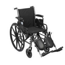 Drive Medical Cruiser III With Desk Arms and Leg Rests 18'' - $184.15