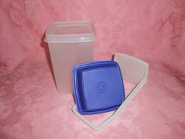 Tupperware Pic-A-Deli Container Royal Blue - $9.00