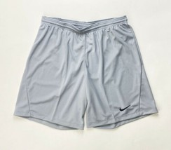 Nike Dry Park III Soccer Game Short Men's Large Grey BV6857 Dri-Fit - $17.81