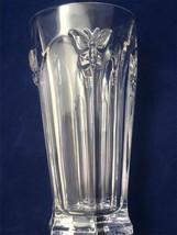 Lenox Butterfly Meadow Water Ice Tea CLEAR Glass  Glasses 12 oz (1) - $30.69