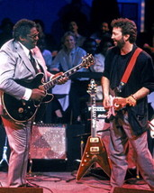 Eric Clapton B.B. King MM Vintage 18X24 Color Music Memorabilia Photo   - $34.95