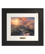 Thomas Kinkade The Cross 11 x 14 Modern Home Collection Espresso Frame - $225.00