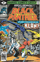 Marvel Premiere Comic Book #52 Black Panther 1980 VERY FINE/NEAR MINT - $19.26