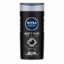 NIVEA Hombre Gel de Ducha, Active Limpiar Cuerpo Lavado, Hombre, 250ml - $14.89