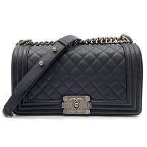 Chanel Caviar Quilted Medium Black Boy Flap Bag A67086 Y83338 94305 - $7,699.00