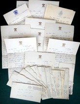 LOT 1944 vintage 12pc WWII LETTERS w/COVERS ~ANDERSON queens village, ny... - $87.95