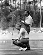 Jack Nicklaus Arnold Palmer TKK Vintage 24X36 BW Golf Memorabilia Photo - $45.95