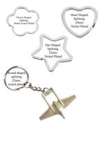 de Havilland Vampire Pewter Emblem on a split-ring Flower Heart keyring ... - $11.46