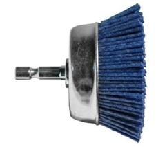 "Century Drill & Tool 77233 3"" Fine Nylon Cup Brush Hex Shank - $33.89"