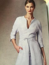 Vogue Sewing Pattern Ralph Rucci 1381 Misses Lined Dress Size 4-12 New - $23.85