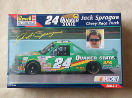 FACTORY SEALED Revell #24 Quaker State Jack Sprague Chevy Race Truck #85... - $23.99