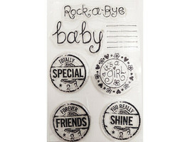 Rock-a-Bye Baby Clear Stamp Set