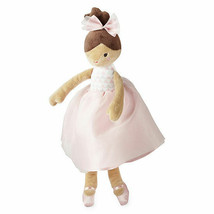 "NWT OKIE DOKIE 14"" CRINKLE STUFFED PLUSH BALLERINA BALLET DOLL BROWN BAB... - $39.59"
