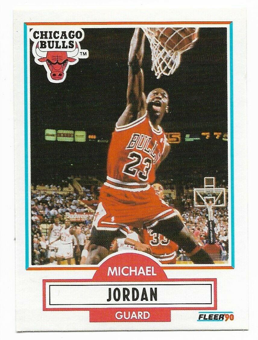1990-91 Fleer #26 Michael Jordan, Chicago Bulls