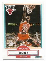 1990-91 Fleer #26 Michael Jordan, Chicago Bulls - $2.65