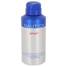 Nautica Voyage Sport Body Spray 5 Oz For Men  - $14.41