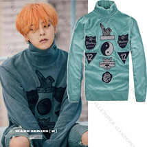 KPOP Bigbang G-Dragon Turtleneck Sweater Unisex Series E MV Sweatershirt... - $12.99