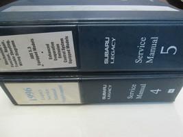 1996 Subaru Legacy 2 Volumes Incomplete Service Repair Shop Manual OEM B... - $98.99